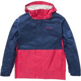 Marmot PreCip Plus Chaqueta Niños, rosa/azul